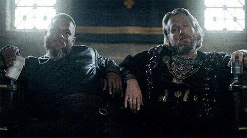Ragnar y el rey Ecbert